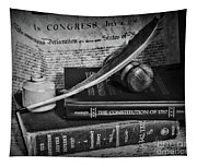 The Constitutional Lawyer In Black And White Tapestry