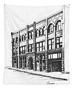 The Denver Block Helena Montana Tapestry