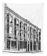The Diamond Block Helena Montana Tapestry