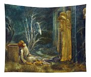 The Dream Of Lancelot Study Tapestry