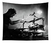The Drummer Tapestry