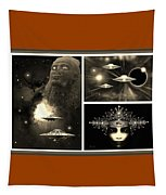 The Enigma Of Space Tapestry by Hartmut Jager