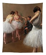 The First Pose, The Ballet Lesson Tapestry