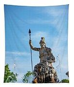The Fountain Of Rometta Tapestry