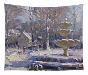 The Frozen Fountain Tapestry