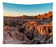 The High And Low Of The Badlands Tapestry