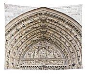 The Judgement Portal Of Notre Dame De Paris Tapestry