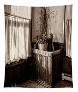 The Kitchen Water Pump Tapestry