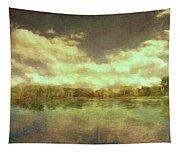 The Lake - Panorama Tapestry