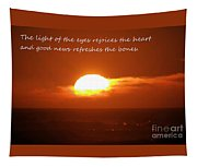 The Light Of The Eyes Tapestry