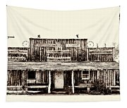 The Longhorn Store Tapestry