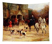 The Meet By Heywood Hardy Tapestry