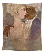 The Mulatto And The Sculpturesque White Woman 1913 Tapestry