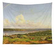 The Narrows From Staten Island Tapestry
