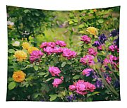The Painted Garden Tapestry