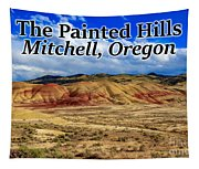 The Painted Hills Mitchell Oregon 02 Tapestry