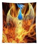 The Phoenix Rises From The Ashes Tapestry
