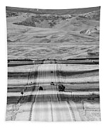 The Road From Casper Tapestry