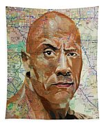 The Rock From California Tapestry