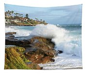 The Sea Was Angry That Day My Friends Tapestry