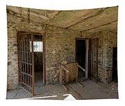 The Stone Jailhouse Interior Tapestry