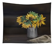 The Sun Flowers  Tapestry