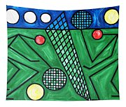 The Tennis Match Tapestry
