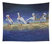 The Welcoming Committee Tapestry