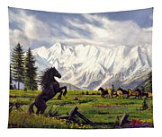 The Wild One Tapestry