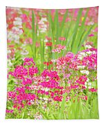 The World Laughs In Flowers - Primula Tapestry