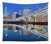 This Is Cleveland II Tapestry