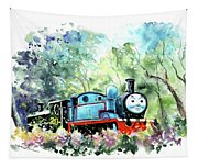 Thomas The Tank Engine In Buckfastleigh Tapestry