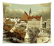 Thomasschule In Leipzig Tapestry