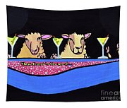 Three Sheeps To The Wind  Tapestry