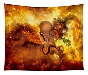 Through Ashes Rise II Tapestry