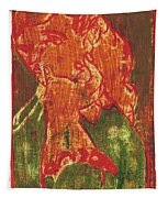 Thumb Cheek Girl 5 Tapestry