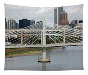 Tilikum Crossing, Portland, Oregon, Usa Tapestry