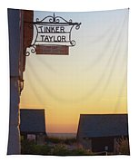 Tinker Taylor Sign Tapestry