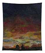 Tiny Sunset Tapestry