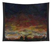 Tiny Sunset Tapestry