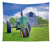 Tractor - On The Farm Tapestry