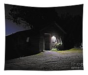 Trapp Family Lodge Cabin Sunrise Stowe Vermont Photo Tapestry