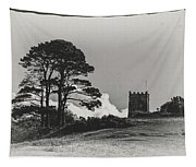 Tree And Tower Tapestry