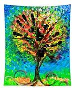 Tree Of Faith Tapestry