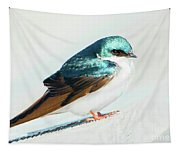 Tree Swallow Tapestry