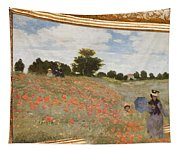 Tribute To Claude Monet Tapestry