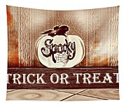 Trick Or Treat Tapestry