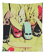 Tropical Trippers 1960 Tapestry