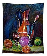 Tulip In Still Life Tapestry