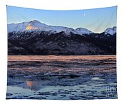 Turnagain Arm At Dawn Alaska Tapestry